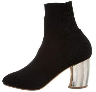 Proenza Schouler Stretch Knit Ankle Boots