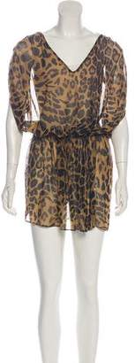Lauren Ralph Lauren Animal Print Mini Dress w/ Tags