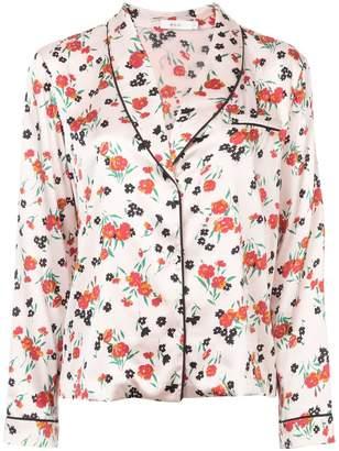 A.L.C. Leomie floral print pyjama top