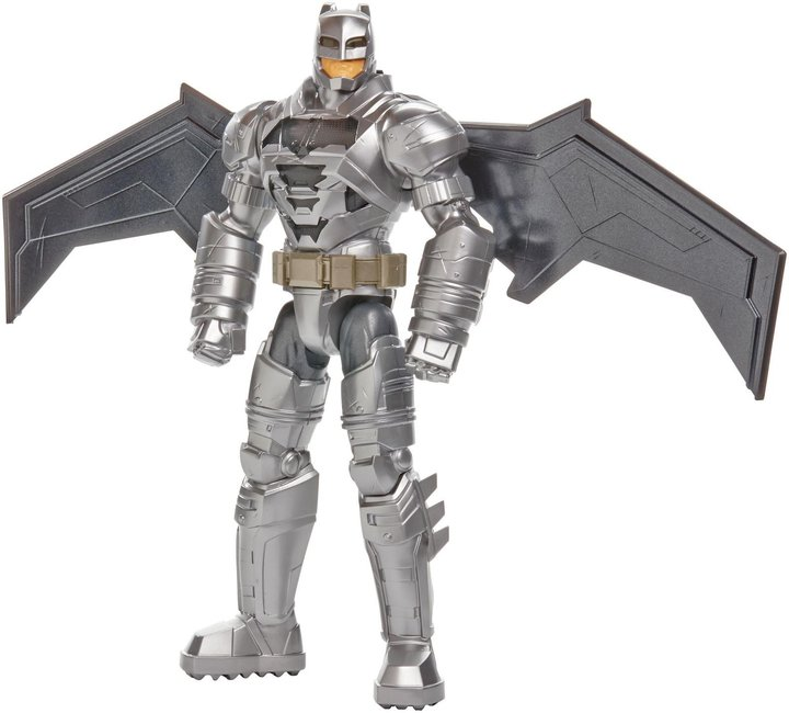 "Batman v Superman: Dawn of Justice Electro-Armor 12"" Deluxe Figure Action Figure"