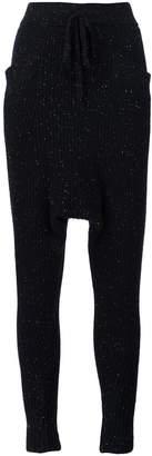 Baja East cashmere harem trousers