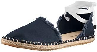 Armani Exchange A X Women's Canvas Espadrilles Sandal