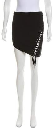 Mason Asymmetrical Lace-Up Skirt w/ Tags