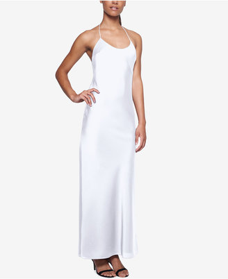 Fame and Partners Tie-Back Halter Dress $235 thestylecure.com