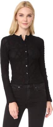 Fuzzi Lace Cardigan $395 thestylecure.com