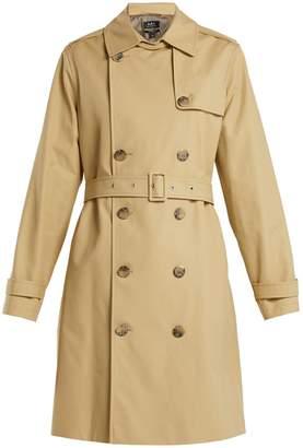 A.P.C. Josephine cotton trench coat