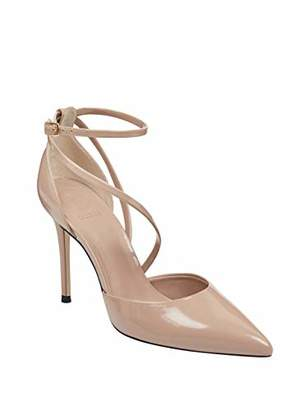 GUESS Women's Bizzy Strappy Pointed Pumps