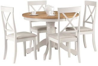 solid oak dining table and chairs shopstyle uk rh shopstyle co uk