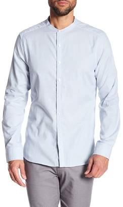 Kenneth Cole New York Mandarin Collar Regular Fit Shirt