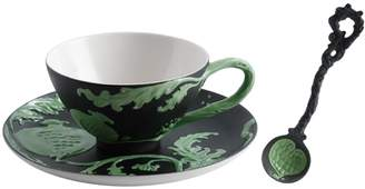 Franz Collection Pomegranate Cup, Saucer & Spoon