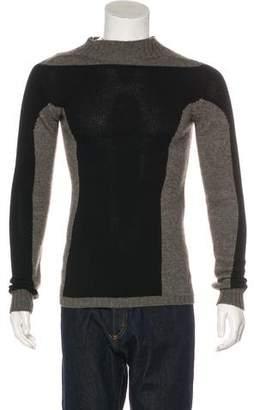 Rick Owens Lambswool Crew Neck Sweater
