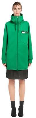 Prada Technical Jersey Hoodie