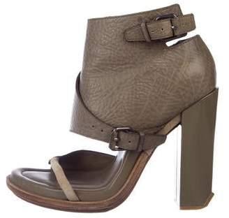 8e6cf0621 Alexander Wang Brown Leather Women's Sandals - ShopStyle