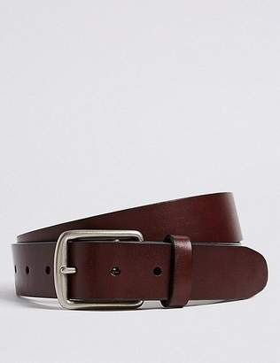 Marks and Spencer Leather Saddle Edge Casual Belt