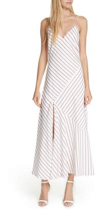 Nicholas Stripe Panel Slipdress