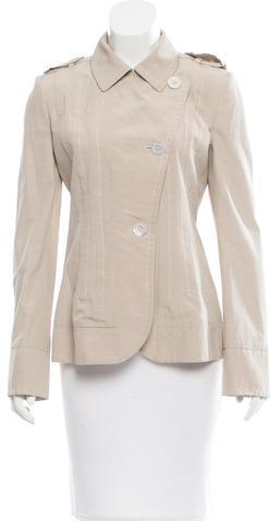 Balenciaga Balenciaga Short Trench Coat