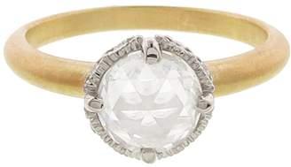 Megan Thorne Two Tone Ribbon Crown Ring