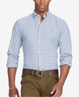 Polo Ralph Lauren Men's Long-Sleeve Oxford Shirt $89.50 thestylecure.com