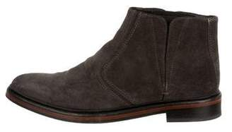 Lanvin Pointed-Toe Ankle Boots