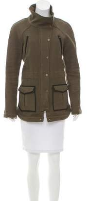 Veronica Beard Twill Short Coat