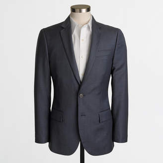 J.Crew Factory Thompson suit jacket in worsted wool