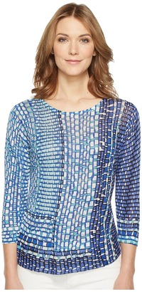 NIC+ZOE - Cloudburst Tissue Tee Women's Clothing $138 thestylecure.com