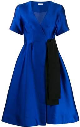 P.A.R.O.S.H. ribbon detail midi dress