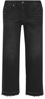 Simon Miller Cropped Low-Rise Straight-Leg Jeans