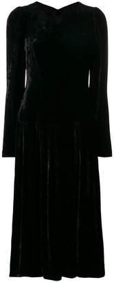 Stella McCartney open back midi dress