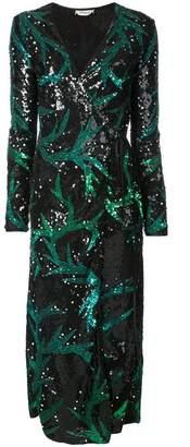 ATTICO sequin embellished evening dress