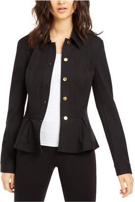 INC International Concepts I.n.c. Peplum Jacket