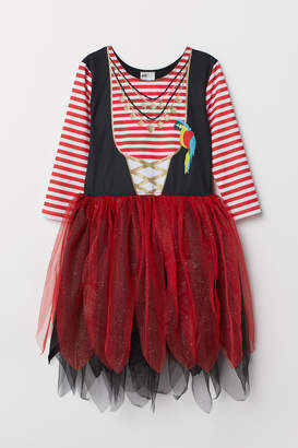 H&M Pirate Dress - Black
