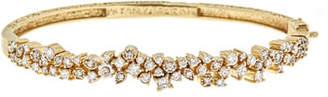 Farah Tanya Art Deco Confetti Diamond Bangle Bracelet