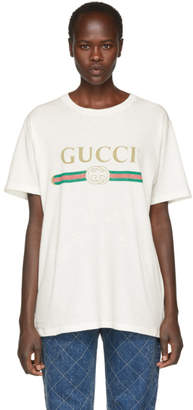 Gucci Off-White Logo T-Shirt