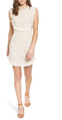 Women's Bp. Cutout Lace Dress $59 thestylecure.com