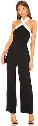 superdown Laurien Cross Front Jumpsuit