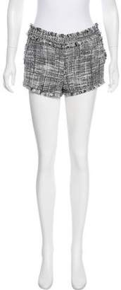 Rachel Zoe Tweed Mini Shorts
