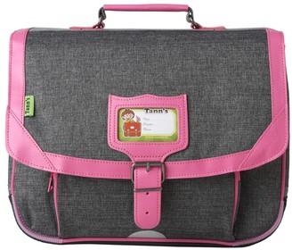 TANN'S 38 cm Flecked Grey Classic Schoolbag $91.20 thestylecure.com