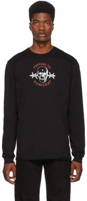 Yang Li SSENSE Exclusive Black Special Edition Samizdat Skull Long Sleeve T-Shirt