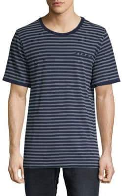 Sovereign Code Bronk Striped Cotton Tee