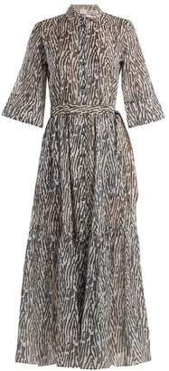 On The Island - Phophi Animal Print Maxi Dress - Womens - Animal