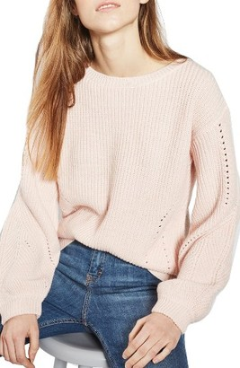 Women's Topshop Open Back Sweater $80 thestylecure.com