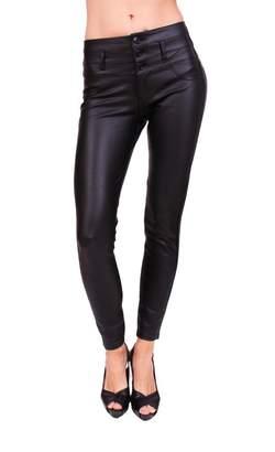 Celebrity Pink CelebrityPink Jeans Women Coated Skinny Pants 3 Front Button