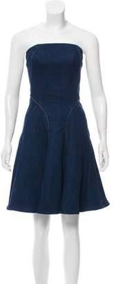 Polo Ralph Lauren Denim Strapless Dress