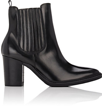Barneys New York BARNEYS NEW YORK WOMEN'S LEATHER ANKLE BOOTS-BLACK SIZE 10 $425 thestylecure.com