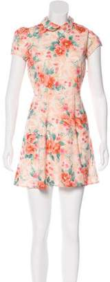 Reformation Cap Sleeve Mini Dress w/ Tags
