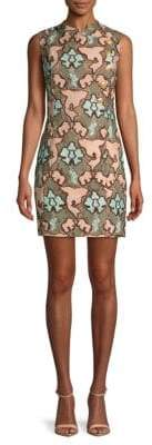 Pierre Balmain Floral Sheath Dress