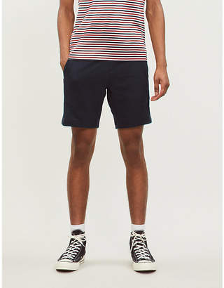 Tommy Hilfiger Block-panel cotton shorts