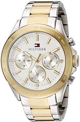 Tommy Hilfiger Men's 1791226 Hudson Analog Display Japanese Quartz Two Tone Watch