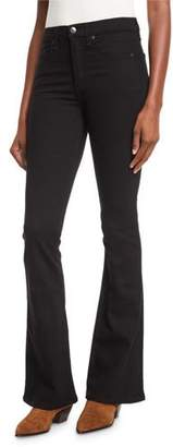Veronica Beard Beverly Skinny Flare High-Rise Jeans
